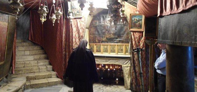 La iglesia de la natividad en los territorios palestinos